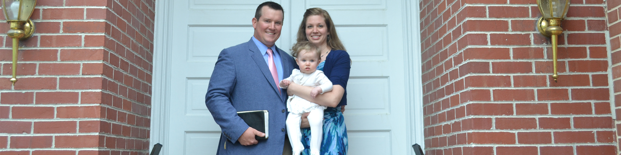 Pastor George With His Family